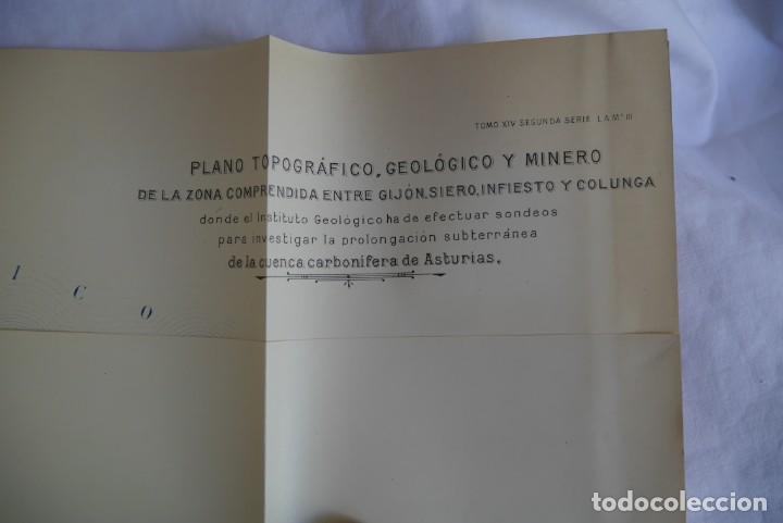 Libros antiguos: Boletín del Instituto Geológico de España Intonso Tomo XIV 1914 - Foto 12 - 277622158