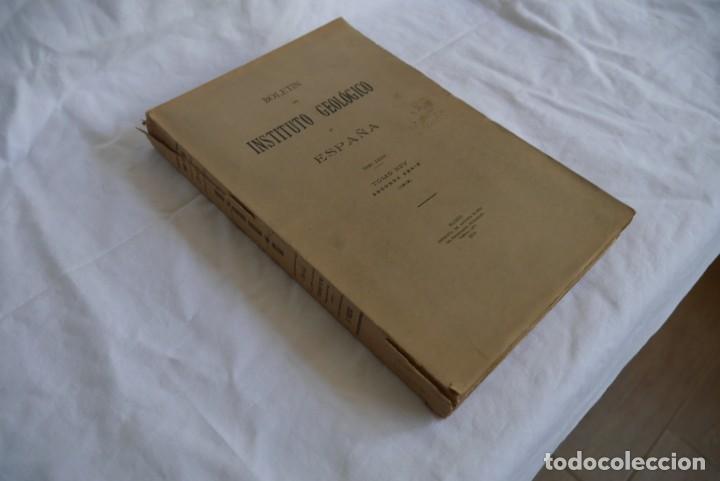 Libros antiguos: Boletín del Instituto Geológico de España Intonso Tomo XIV 1914 - Foto 15 - 277622158