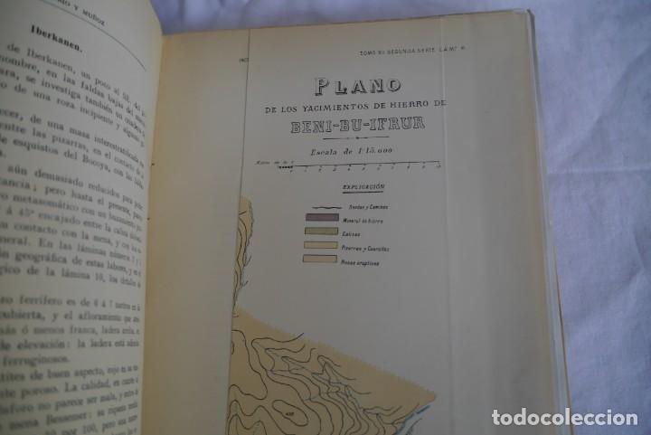 Libros antiguos: Boletín del Instituto Geológico de España Intonso Tomo XI 1912 - Foto 11 - 277622478