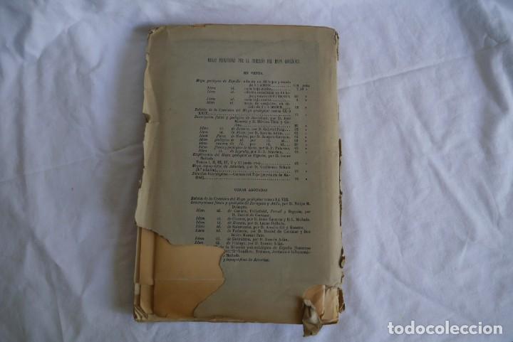 Libros antiguos: Boletín de la Comisión del Mapa Geológico de España, intonso,Tomo XXX Cuaderno 2 1910 - Foto 2 - 277622823