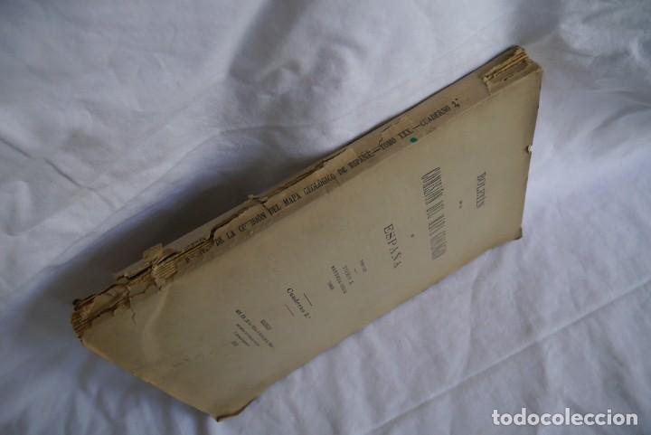 Libros antiguos: Boletín de la Comisión del Mapa Geológico de España, intonso,Tomo XXX Cuaderno 2 1910 - Foto 3 - 277622823