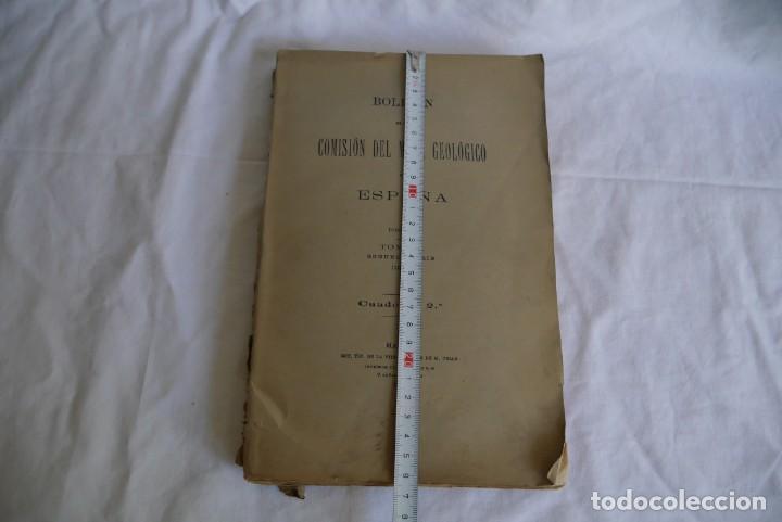 Libros antiguos: Boletín de la Comisión del Mapa Geológico de España, intonso,Tomo XXX Cuaderno 2 1910 - Foto 4 - 277622823