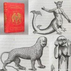 Libros antiguos: AÑO 1870 - LOS MONSTRUOS MARINOS - 47 GRABADOS - LIBRERÍA HACHETTE. Lote 278196993