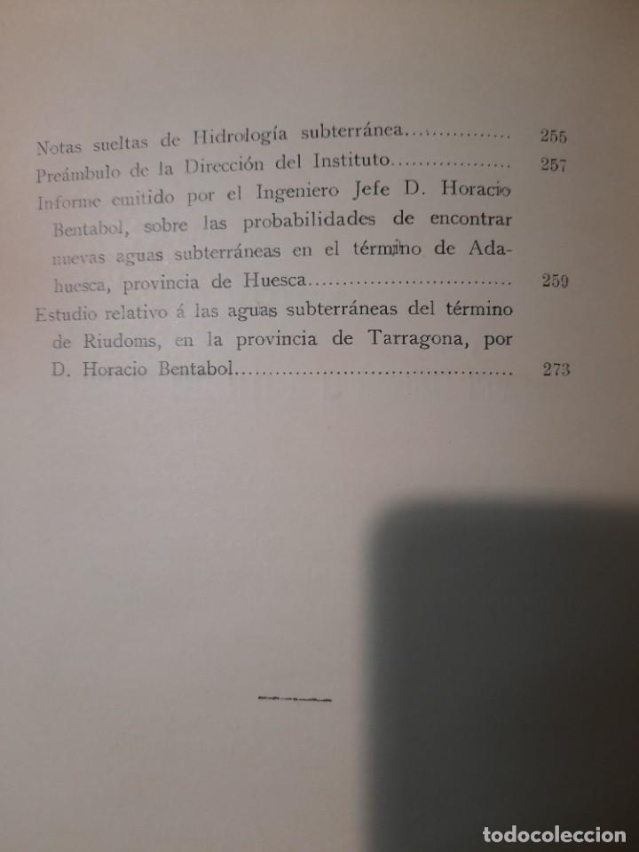 Libros antiguos: Boletín del Instituto Geológico de España Intonso Tomo XI 1912 - Foto 16 - 277622478