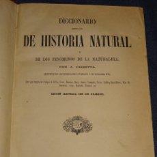 Libros antiguos: (MF) J. PIZZETTA - DICCIONARIO POPULAR DE HISTORIA NATURAL Y DE LOS FENÓMENOS DE LA NATURALEZA 1866. Lote 278345453