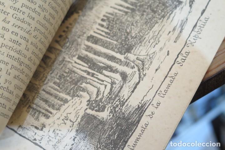 Libros antiguos: 1895.- LA CUEVA DE LA MORA. DESCRIPCION DE LA GRUTA. OPUSCULO ILDEFONSO LLORENTE - Foto 2 - 278511018