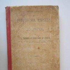 Libros antiguos: LIBRO FITOTECNICA ESPECIAL Y ZOOTECNICA 1900. Lote 278756813