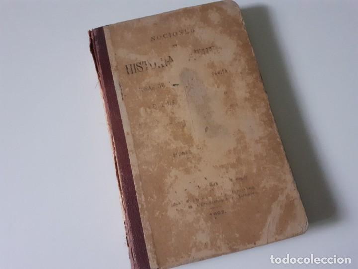 NOCIONES DE HISTORIA NATURAL. LUIS PEREZ MINGUEZ. 1897 - GEOLOGÍA - EDITORIAL HIJOS DE RODRIGUEZ (Libros Antiguos, Raros y Curiosos - Ciencias, Manuales y Oficios - Paleontología y Geología)
