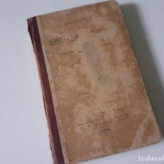 Libros antiguos: NOCIONES DE HISTORIA NATURAL. LUIS PEREZ MINGUEZ. 1897 - GEOLOGÍA - EDITORIAL HIJOS DE RODRIGUEZ. Lote 284215918