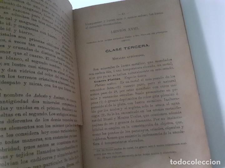Libros antiguos: NOCIONES DE HISTORIA NATURAL. LUIS PEREZ MINGUEZ. 1897 - geología - EDITORIAL HIJOS DE RODRIGUEZ - Foto 2 - 284215918