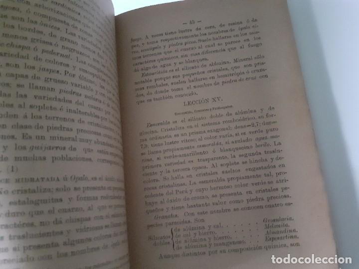 Libros antiguos: NOCIONES DE HISTORIA NATURAL. LUIS PEREZ MINGUEZ. 1897 - geología - EDITORIAL HIJOS DE RODRIGUEZ - Foto 3 - 284215918