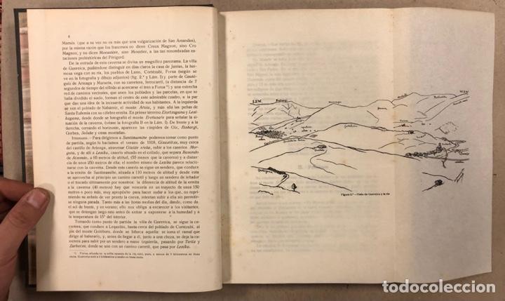 Libros antiguos: EXPLORACIÓN DE LA CAVERNA DE SANTIMAMIÑE. TELESFORO DE ARANZADI, J.M. BARANDIARAN Y ENRIQUE DE EGURE - Foto 7 - 285289668