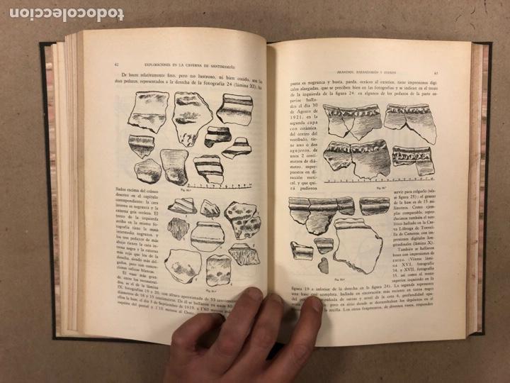 Libros antiguos: EXPLORACIÓN DE LA CAVERNA DE SANTIMAMIÑE. TELESFORO DE ARANZADI, J.M. BARANDIARAN Y ENRIQUE DE EGURE - Foto 10 - 285289668