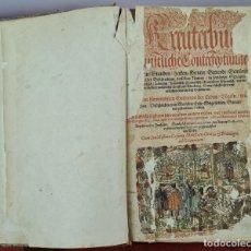 Libros antiguos: KREUTERBUCH KÜNSTLICHE CONTERFEYTUNGE DER BÄUME STAUDEN. ADAM LONITZER. 1593. Lote 287414458