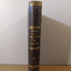 Libros antiguos: TRATADO DE ZOOTECNIA II / ZOOLOGIA Y ZOOTECNIA GENERALES / ANDRÉ SANSON / 2ªED. 1889. Lote 287452373