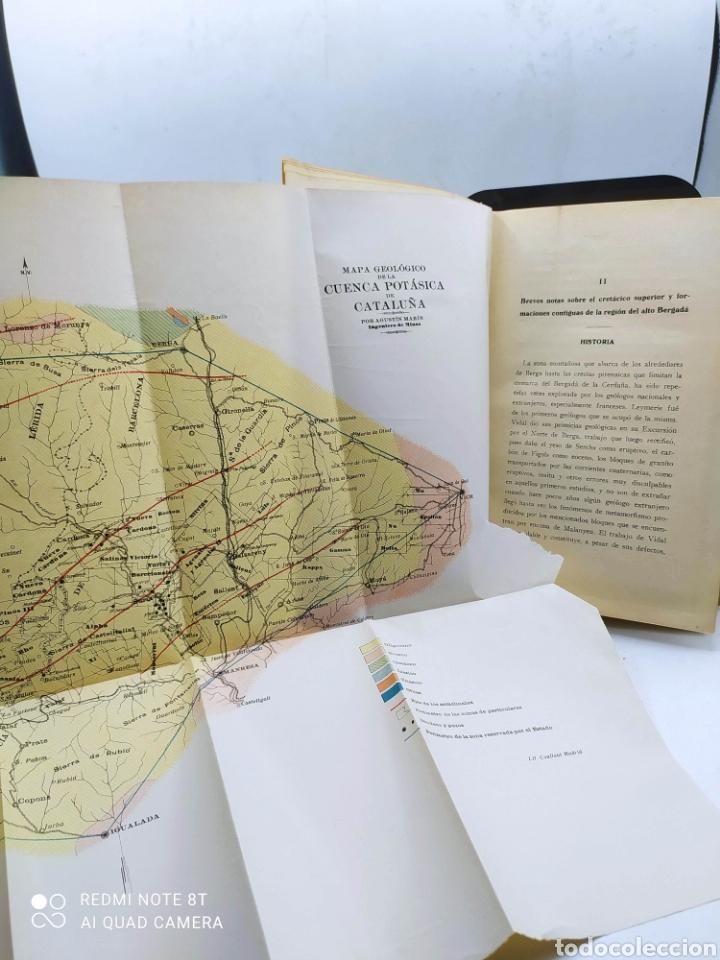 Libros antiguos: Cataluña Cuenca potasica Cretacea de Berga Región volcánica de Olot 1926 - Foto 3 - 288066898