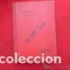 Libros antiguos: ELEMENTOS DE MATEMÁTICAS GEOMETRÍA ELEMENTAL PEDRO ALIAGA MILLÁN. Lote 288219308
