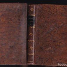 Libros antiguos: MR. DE LA LANDE: TABLAS DE LOGARITMOS PARA LOS NÚMEROS Y LOS SENOS. MADRID, 1830. Lote 288224758