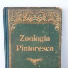 Libros antiguos: ZOOLOGÍA PINTORESCA. MIGUEL PONS FÁBREGUES. TALLERES HENRICH. BARCELONA . 1915. Lote 288360578