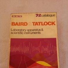 Libros antiguos: 72 CATALOGUE BAIRD & TATLOCK. Lote 288370168