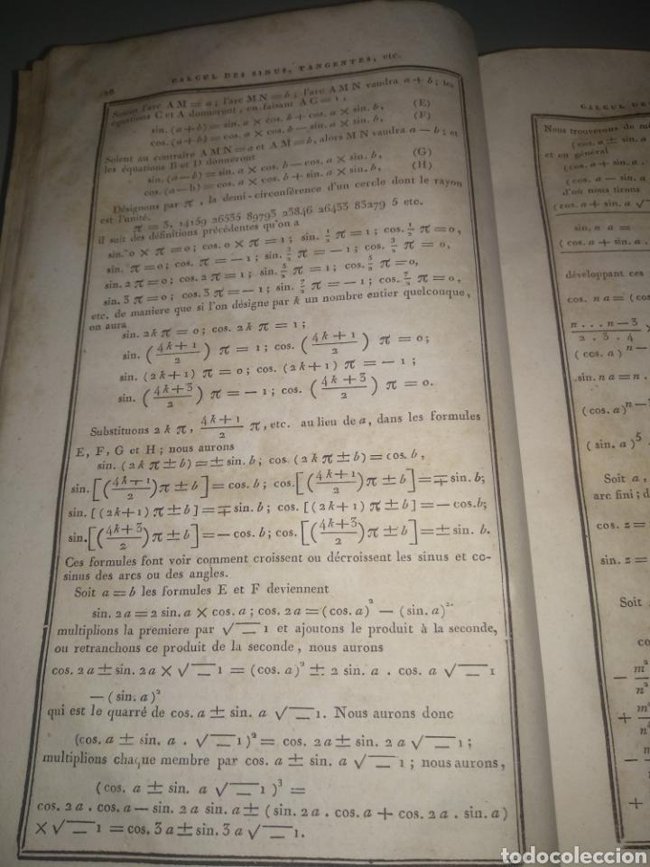 """Libros antiguos: Libro antiguo y raro de Logaritmos """"Tables Portatives de Logarithmes"""" 1829 - Foto 8 - 288385083"""
