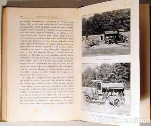 Libros antiguos: EUTING, W. - TRAZADO Y CONSTRUCCIÓN DE CARRETERAS - Barcelona 1928 - Ilustrado - Foto 3 - 289298773