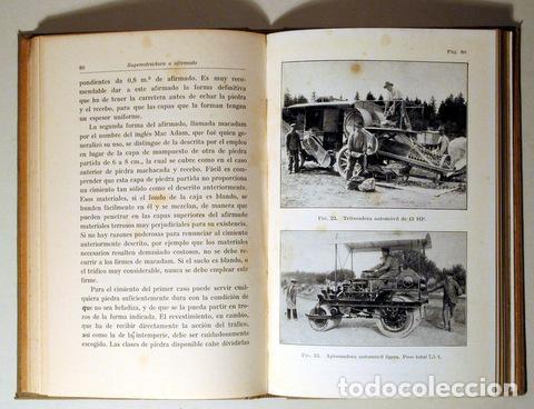 Libros antiguos: EUTING, W. - TRAZADO Y CONSTRUCCIÓN DE CARRETERAS - Barcelona 1928 - Ilustrado - Foto 4 - 289298773
