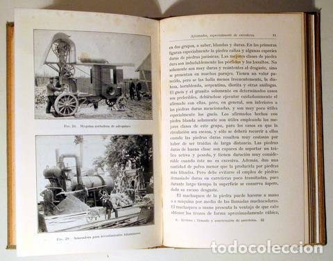 Libros antiguos: EUTING, W. - TRAZADO Y CONSTRUCCIÓN DE CARRETERAS - Barcelona 1928 - Ilustrado - Foto 5 - 289298773