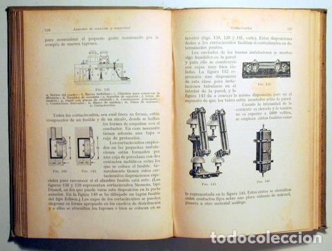 Libros antiguos: POHL, H. - MONTAJE DE INSTALACIONES ELÉCTRICAS DE LUZ Y FUERZA - Barcelona 1927 - Ilustrado - Foto 2 - 289298783