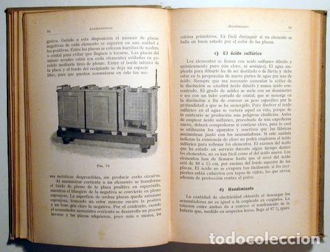 Libros antiguos: POHL, H. - MONTAJE DE INSTALACIONES ELÉCTRICAS DE LUZ Y FUERZA - Barcelona 1927 - Ilustrado - Foto 3 - 289298783