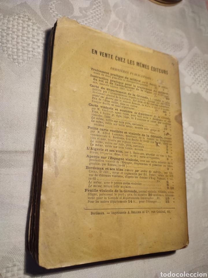 Libros antiguos: Manuel pratique de la culture de la vigne Armando Cazenave (Manual cultivo viña) - Foto 9 - 289686383