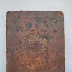 Livros antigos: LIBRO QUE PERTENECIÓ AL REY STANISLAI I DE POLÒNIA , TRAITES TRIGONOMETRIE SPHERIQUE AÑO 1741. Lote 293444308