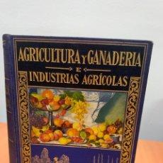 Libros antiguos: AGRICULTURA Y GANADERÍA E INDUSTRIAS AGRÍCOLAS.ANTONIO GARCÍA ROMERO.ED.RAMÓN SOPENA BARCELONA 1933.. Lote 293560043
