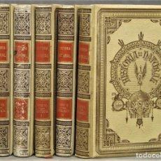 Libros antiguos: ZOOLOGIA. HISTORIA NATURAL. MONTANER Y SIMON. COMPLETA. 6 TOMOS. Lote 293702088