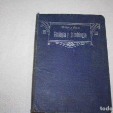 Libros antiguos: APUNTES DE GEOLOGÍA Y BIONTOLOGÍA. AÑO 1912.. Lote 295895433