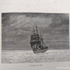 Libros antiguos: AMÉDÉE GUILLEMIN - LA TERRE ET LE CIEL - 1888. Lote 296682743