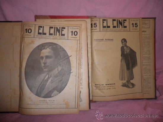 EL CINE REVISTA POPULAR ILUSTRADA - AÑOS 1916-18 EN DOS VOLUMENES - CINE.ILUSTRADAS. (Libros Antiguos, Raros y Curiosos - Bellas artes, ocio y coleccion - Cine)