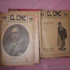 Libros antiguos: EL CINE REVISTA POPULAR ILUSTRADA - AÑOS 1916-18 EN DOS VOLUMENES - CINE.ILUSTRADAS.. Lote 26691498