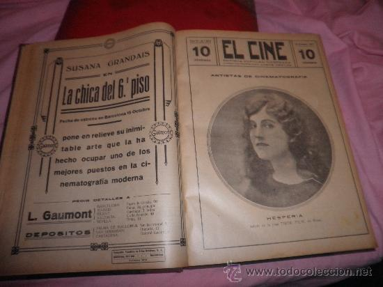 Libros antiguos: EL CINE REVISTA POPULAR ILUSTRADA - AÑOS 1916-18 EN DOS VOLUMENES - CINE.ILUSTRADAS. - Foto 3 - 26691498