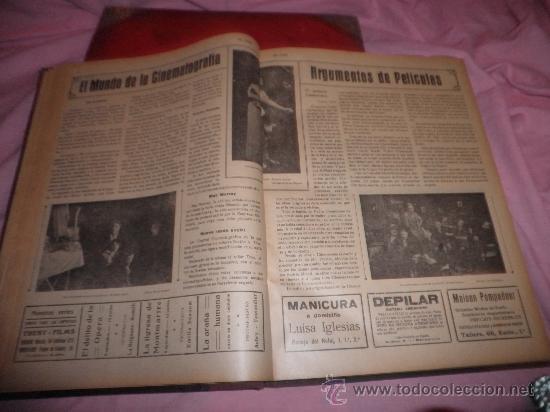 Libros antiguos: EL CINE REVISTA POPULAR ILUSTRADA - AÑOS 1916-18 EN DOS VOLUMENES - CINE.ILUSTRADAS. - Foto 4 - 26691498