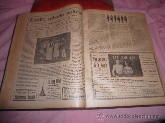 Libros antiguos: EL CINE REVISTA POPULAR ILUSTRADA - AÑOS 1916-18 EN DOS VOLUMENES - CINE.ILUSTRADAS. - Foto 5 - 26691498