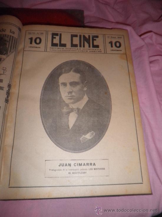 Libros antiguos: EL CINE REVISTA POPULAR ILUSTRADA - AÑOS 1916-18 EN DOS VOLUMENES - CINE.ILUSTRADAS. - Foto 6 - 26691498