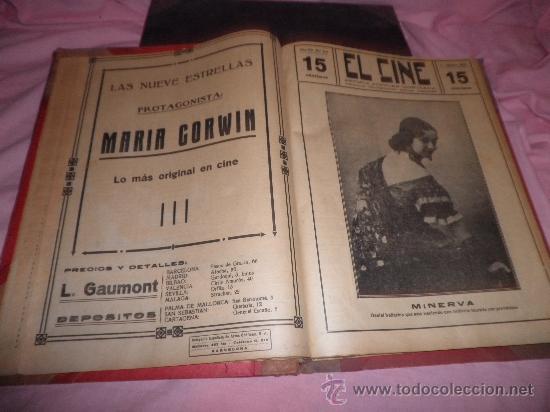Libros antiguos: EL CINE REVISTA POPULAR ILUSTRADA - AÑOS 1916-18 EN DOS VOLUMENES - CINE.ILUSTRADAS. - Foto 7 - 26691498
