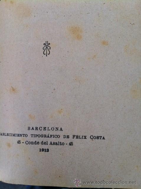 Libros antiguos: DOS TOMOS ORIGINALES AUTENTICA OBRAS DE TEATRO 1913 1917 - Foto 13 - 29330207