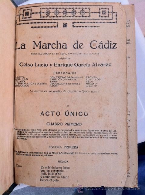 Libros antiguos: DOS TOMOS ORIGINALES AUTENTICA OBRAS DE TEATRO 1913 1917 - Foto 14 - 29330207