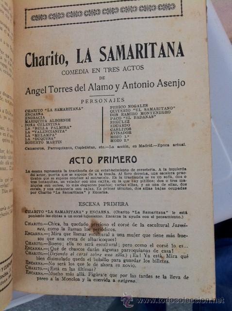 Libros antiguos: DOS TOMOS ORIGINALES AUTENTICA OBRAS DE TEATRO 1913 1917 - Foto 15 - 29330207
