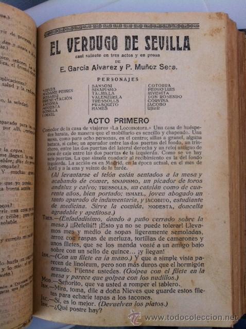 Libros antiguos: DOS TOMOS ORIGINALES AUTENTICA OBRAS DE TEATRO 1913 1917 - Foto 18 - 29330207