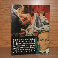 Libros antiguos: PSYCHOPATHIA SEXUALIS IN ITALIAN SINEMA. Lote 31632774