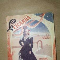 Libros antiguos: LIBRO CINE LA CIGARRA - IMPERIO ARGENTINA - EDICIONES BISTAGNE - FILMOFONO SA. Lote 31891770