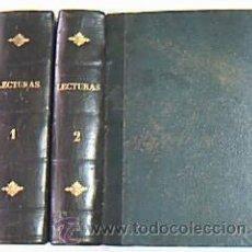 Libros antiguos: LECTURAS. DOS VOLÚM. SOBRE 1930. FOTOS CINE MUDO, DIBUJOS RICARDO OPISSO, COMICS JUNCEDA, ETC. . Lote 32298161